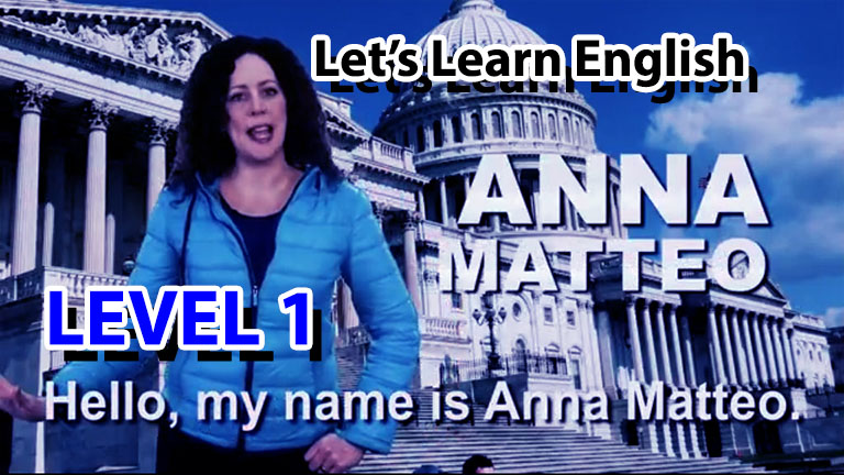 Let's Learn English - Level 1